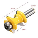 New 1/2'' Shank Bullnose Bead Column Face Molding Router Bit For Woodworking Tools