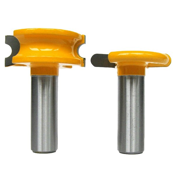 2 pc 1/2  SH 1/4  Dia. Canoe Flute and Bead Router Bit wood cutter woodworking cutter woodworking bits wood milling cutter