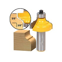 1pcs Classical Ogee Edging and Molding Router Bit Medium - 1/2  Shank