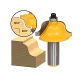 1pcs Roman Ogee Edging and Molding Router Bit - Large - 1/2  Shank