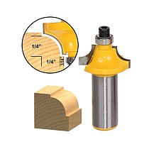 1pcs Round Over Beading Edging Router Bit - 1/4  Radius - 1/2  Shank