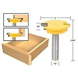 1pcs Drawer Front Joint Router Bit - Reversible - 1/2  Shank