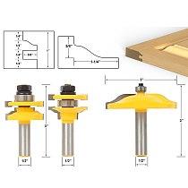3pcs/lot Bit Raised Panel Cabinet Door Router Bit Set - 1/2  Shank # 12335