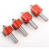 1pc 12mm Shank Rabbeting & Slotting Router Bit woodworking router bits carbide bit Woodworking cutter Wood Cutting Tool