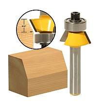 1pcs 30degree Bevel Trim Router Bit - 1/4  Shank