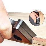 Woodworking Edge Corner Plane 45 Degree Bevel Manual Planer Adjustable Chamfering Planer Trimming Planing Wood DIY Tools