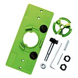 35MM Cup Style Hinge Boring Jig Drill Guide Set Door Hole Template Woodworking Tool with Bit