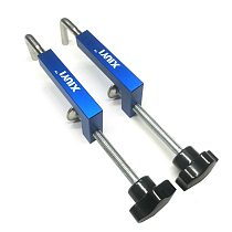 2pcs/set Multifunctional Woodworking clamp Aluminium Alloy fixing fixture for Wood working Benches Saw Machinery Wood Router