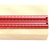 Woodworking Scribe 60-600mm T-type Ruler Scribing ruler Aluminum alloy Line Drawing Marking Gauge DIY Measuring Tools