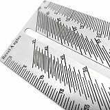 Woodworking Scribe Miter Ruler Stainless Steel Square Angle Ruler T-type Dovetail Marking Jig Polygon Bevel Angles Marking Gauge