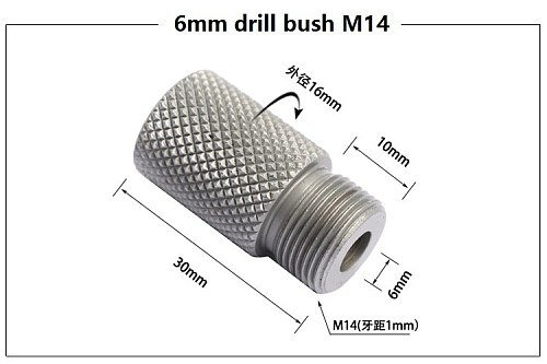 Dowelling Jig Drill Sleeve 4mm-15mm Drill Bushing Matched with Woodworking Hole Drilling In Round Dowel Locator Drill Guide