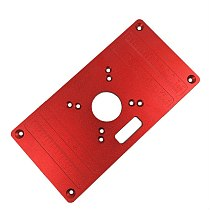 Universal RT0700C Aluminum Router Table Insert Plate for Woodworking Benches Router Table Plate