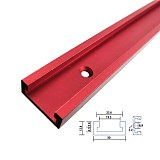 Aluminium Alloy T track Slot Miter Track Jig Fixture T-Slot Miter Track Stop for Carpenter Manual Router Table Woodworking Tools