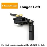 Miter Track Stop Track Limit For T-Slot T-Tracks Stop Chute Limiter Locator Woodworking DIY Manual Tools