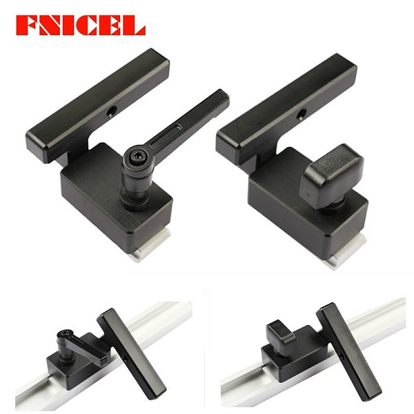 Aluminium Miter Track Stop for T-Slot T-Tracks Woodworking DIY Wood Working Tools