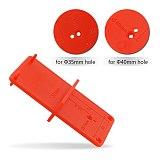 35mm Hinge Hole Device Drilling Guide Locator Cabinet Door Aircraft Hinge Opener Door Cabinets Aluminum Alloy Woodworking Tool