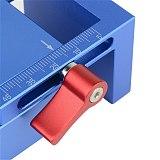 Deluxe Pocket Hole Jig Kit System + 9.5mm HSS Step Drill Bit & Accessories Wood Work Tool Set Locator Tool