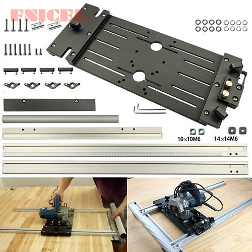 Circular Saw Guide Woodworking Electric Circular Saw Rail for Marble Machine Panel Cutter Cutting Trimming Machine