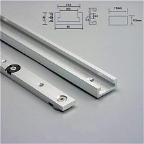 NEW Aluminium Alloy T-tracks Slot Miter Track and Miter Bar Slider Table Saw Miter Gauge Rod Woodworking Tools Workbench DIY