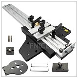 Universal Engraving Machine Guide Rail Linear Slide Orbit for Engraving Straight and Round for Woodworking DIY