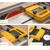 Extended Feather Loc Board Set Multi-purpose Woodworking Engraving Machine Double Featherboards Miter Gauge Slot DIY Tools