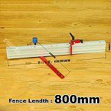 600mm/800mm Miter Gauge and Alluminium Fence with Metric Scale WoodWorking DIY Tools