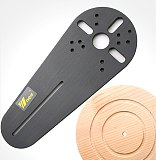 1SET Circle Cutting Jig for Small Wood Routers/Electric Hand Trimmers Woodworking Milling Circle Milling Groove