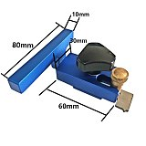 Woodworking T Tracks Slot Miter Track Stop 400/600/800 Aluminum Alloy T-slot Miter Track with Scale for Woodworking Router Table