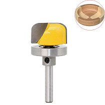 8mm Shank 1-1/8  Diameter Bowl & Tray Template Router Bit Wood Cutting Tool Woodworking Router Bits
