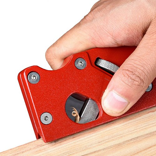 Woodworking Edge Corner Plane 45 Degree Bevel Manual Planer Adjustable Chamfering Planer Trimming Planing Wood DIY Tools