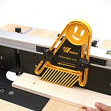 Multi-purpose Feather Loc Board Double Featherboards Miter Gauge Slot Woodworking Tools for Engraving Machine Circular Saw Table