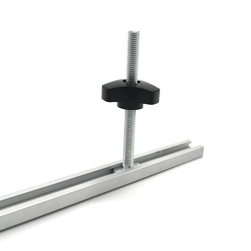 Woodworking T-slot Slide Track Aluminium Alloy T-tracks Miter Track for Woodworking Saw/Router Table Workbench Tools Type-19