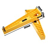 2pcs Drawer Track Installation Jig Auxiliary Positioning Holder Drawer Slide Jig Mounting Cabinet Hardware Woodworking Tools