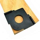 3Pcs Wood Panel Radius R Plate Quick-Jig Router Table Bit Corner Jig Trimming Machine Round Corner Template Kit