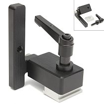 High Quality Miter Track Stop for T-Slot T-Tracks Woodworking Tool Miter Track Stop DIY Manual