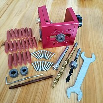 HIGH QUALITY Drill Guide Dowel Jig Set Woodworking Joinery Master For Carpentry Drilling Pocket Hole Tool Kit