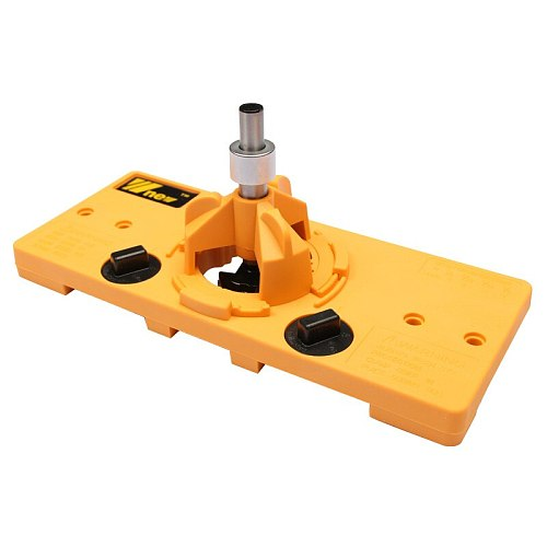 Concealed 35MM Cup Style Hinge Drill Bit Boring Door Hole Locator Jig Guide Carpenter Woodworking Tools