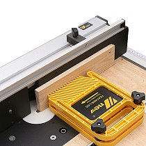 Extended Multi-purpose Feather Loc Board Set for Flip Engraving Machine Table Saw Band-saw Miter Gauge Slot Woodwork Tools