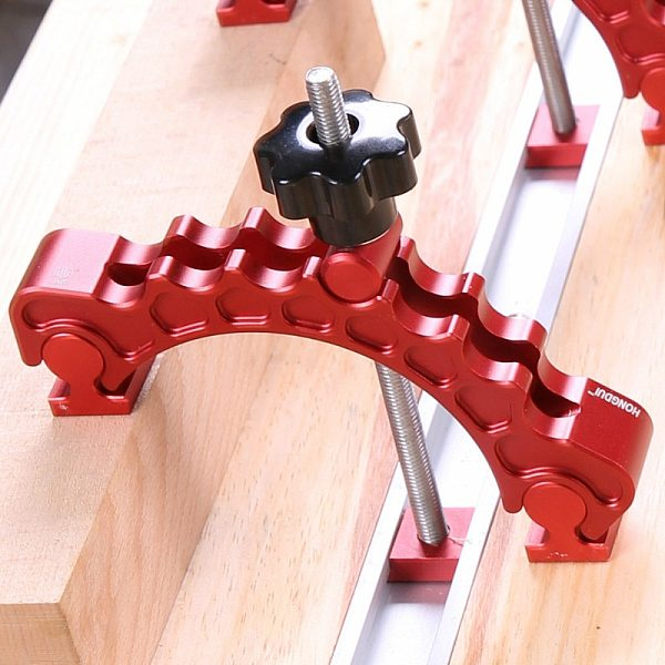 Updated Clamping Blocks Platen Miter Track Clamping Blocks Adjustable Press Plate Woodworking Clamps for Router Table