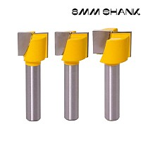 8mm Shank Bottom Wood Cleaning Bit Straight Router Bit Clean Milling Cutter Woodworking Bits Power Machine
