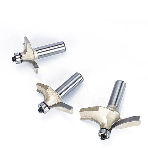 1pc 1/2  Shank Router Bits For Wood Tungsten Carbide Cutter Bit Prrofessional Grade Woodworking Tools
