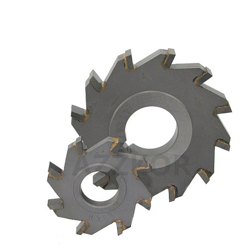 Three Sided Indexable Disc Saw Milling Cutter Alloy Coating Tungsten Steel Tool Cnc Blade Maching Flat Carbide Tools 125mm