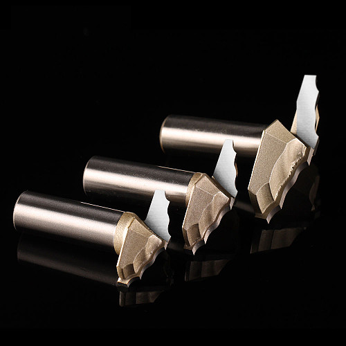 1 pcs  12.7mm shank high quality end milling cutter cnc machine bits cabinet door router bits for woodworking