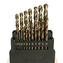 M42 HSS Twist Drill Bits Set 8% Cobalt Twist Drill Bits Set for Stainless Steel, Hard Metal and Wood Drilling