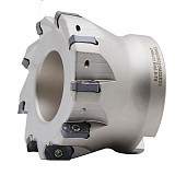 EXN03R  50 63 mm CNC Fast Feeding Lathe Machining Alloy End Mill  LNMU Double Side Carbide Insert Milling Cutter