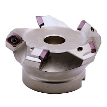 KM12R50-22-4T Four SEKT1204 Carbide Insert Clamped Fast Feeding Alloy End Mill Milling Machining Slab Face Milling Cutter
