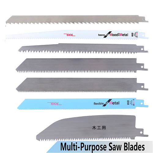 Stainless steel/BIM Reciprocating Saw Blade Hand saw Saber Saw Blades for Cutting Wood/Meat/frozen-Meat/Bone/Metal