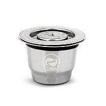 ICafilasFor Nespresso Reutilisable Inox 2 In 1 Usage  Refillable Capsule Crema Espresso Reusable Refillable Nespresso