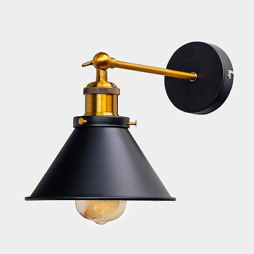 Vintage Industrial Wall Sconce Lights Wandlamp Retro Wall Lamp 110V-220V E27 Indoor Bedroom Bathroom Balcony Bar Aisle Lamp