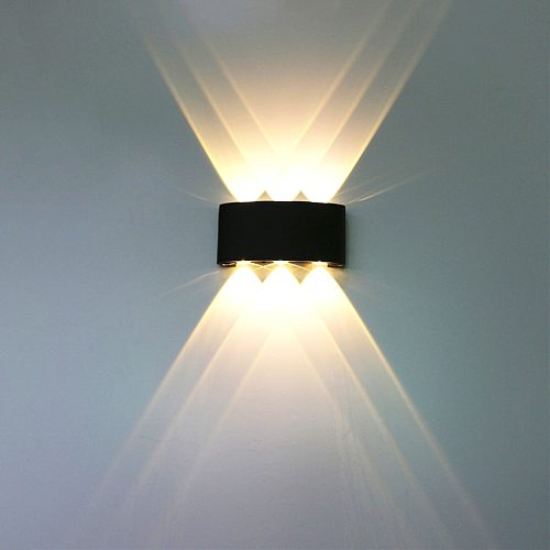 LED Waterproof Wall Lamp Balcony Wall Light Aisle Outdoor Courtyard Fence Wall Sconce Bedroom Living Room Wall Lamp BL03X